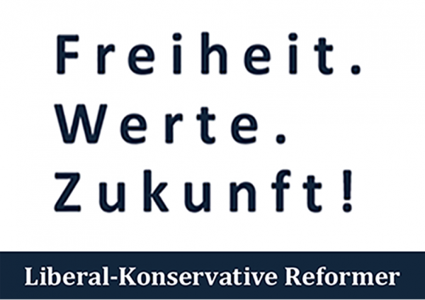 Postkarte Freiheit Werte Zukunft (1000 Stk)